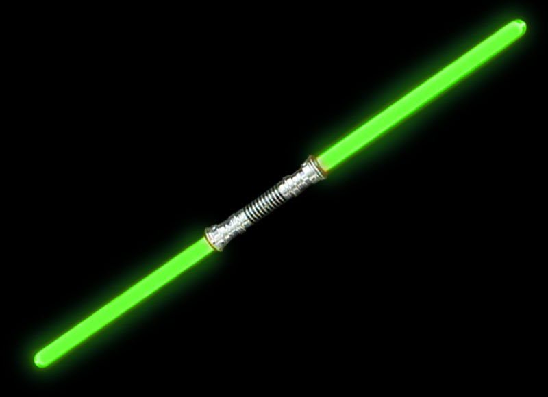 Double Ended Light Sabre - Green