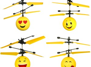 Infrared Emoji Helicopter Drones