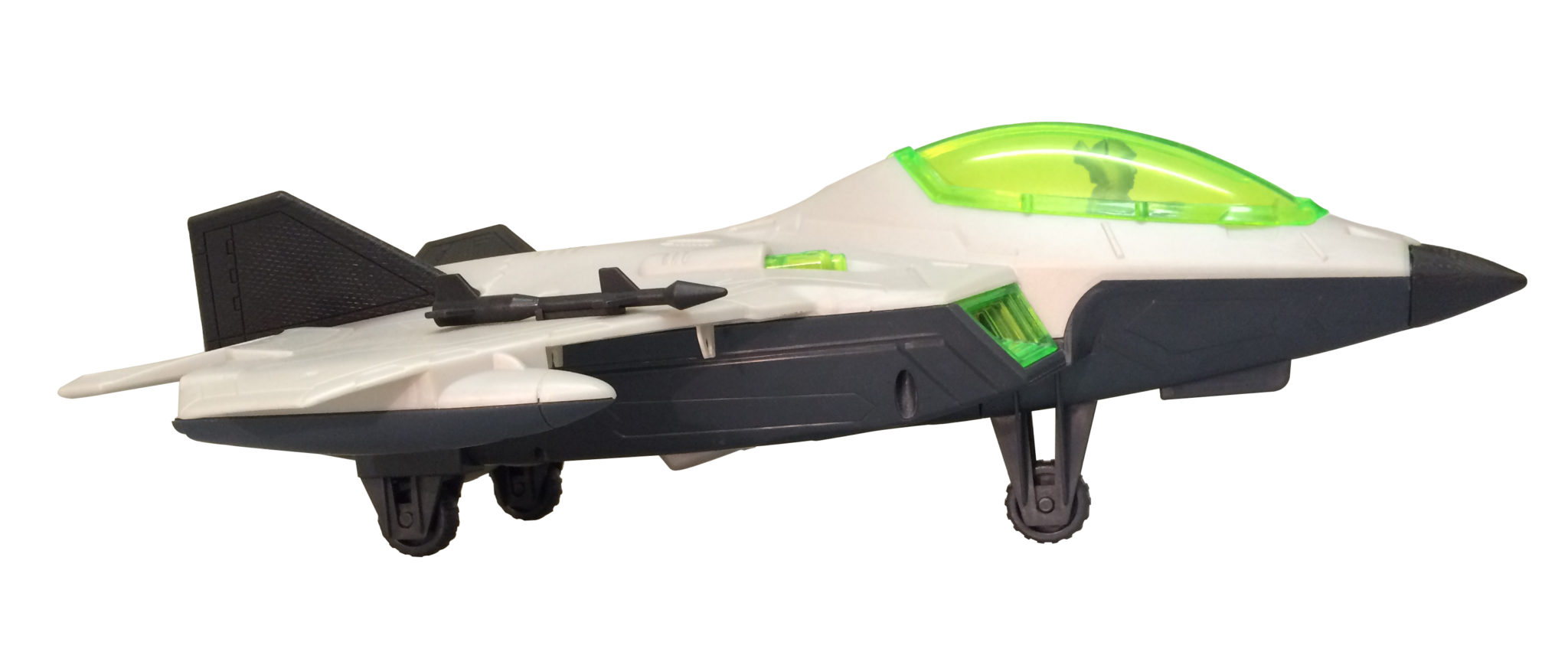 Fighter Jet Toy Side