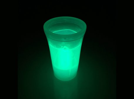 Glow Shot Glass - Green