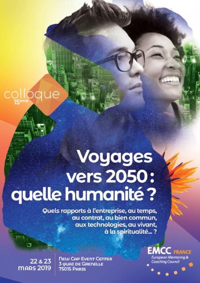 Retour sur le colloque «Voyage vers 2050 : Quelle humanité ?» avec EMCC France