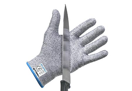6. Stark Safe Cut-Resistant Kitchen Gloves
