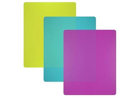 3. Flexible Plastic Cutting Board Mats