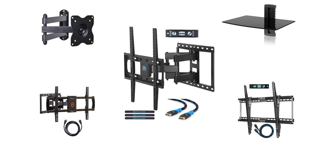 10 best tv wall mount bracket reviews 2019 - Best tv wall mount ...