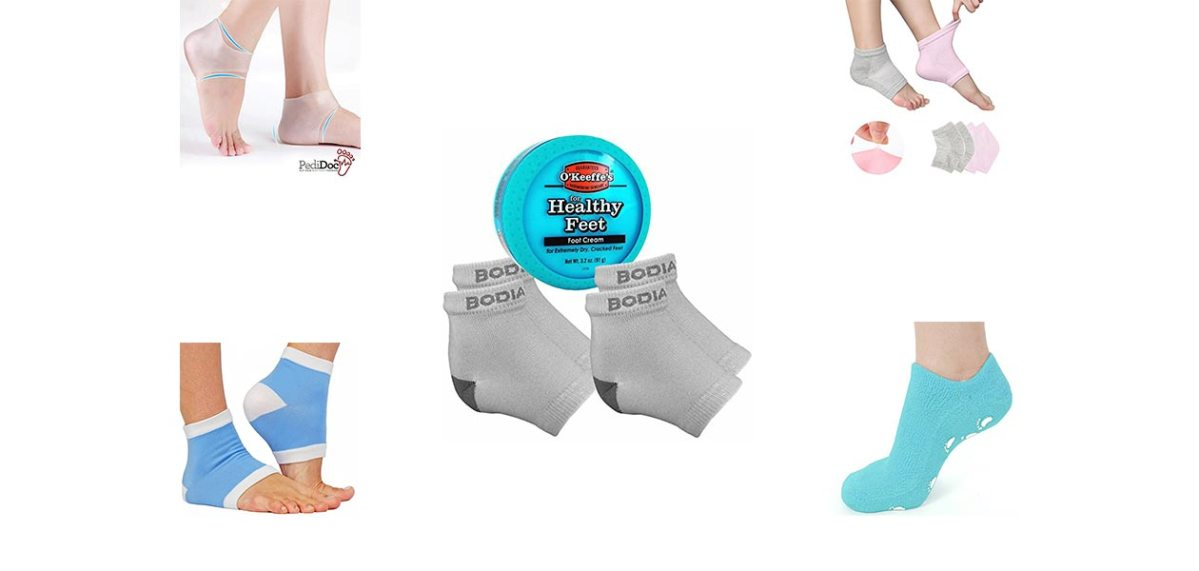 10 Best Moisturizing Gel Heel Socks reviews in 2017