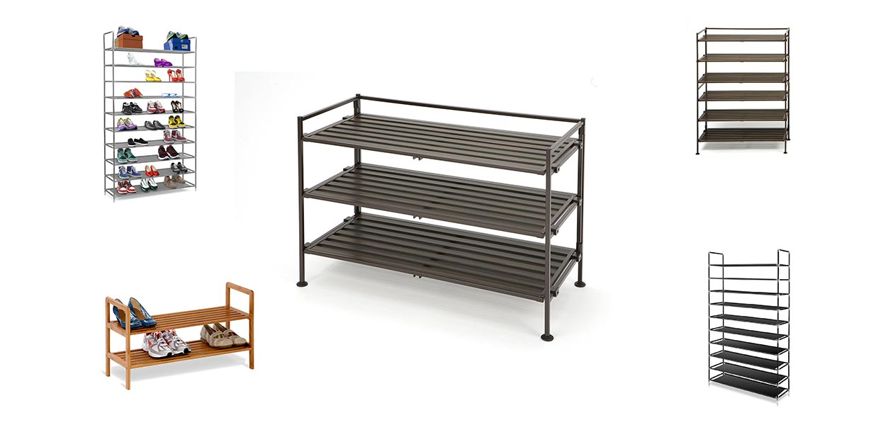 10 Best Free Standing Shoe Racks Reviews In 2019