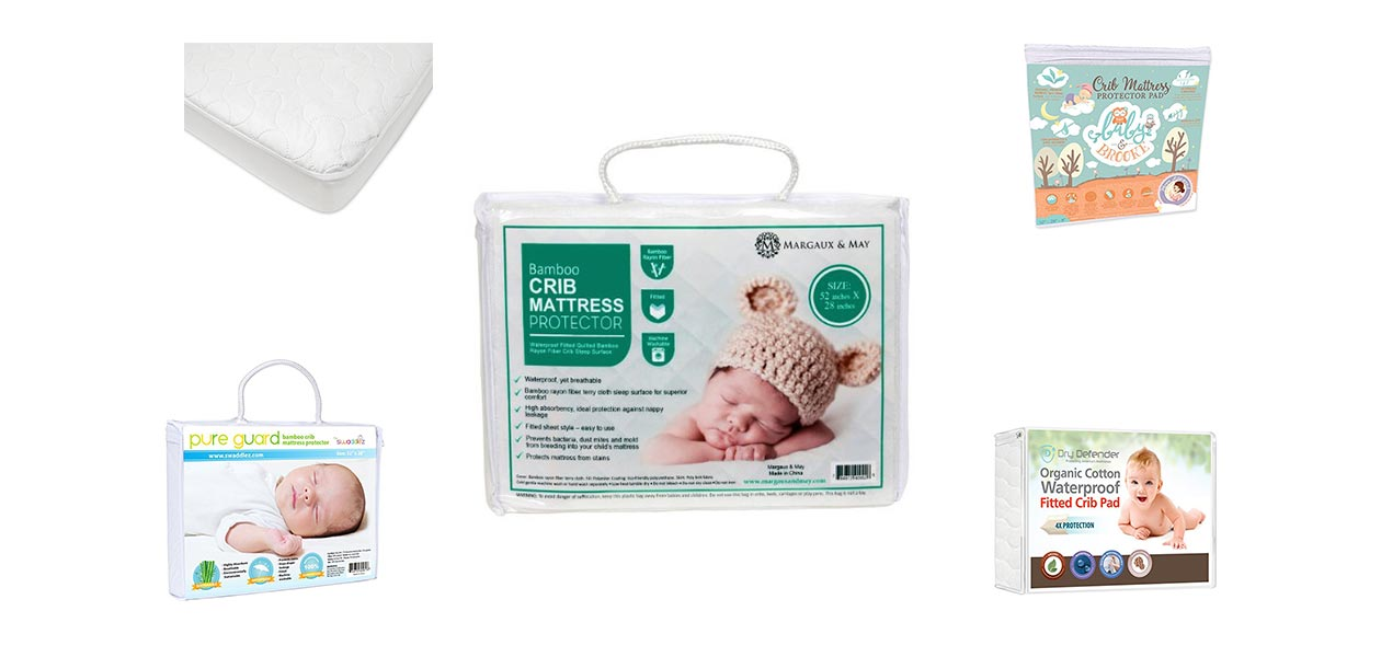 new concept 92f3b b7c85 10 Best Crib Mattress Pads For Toddlers Of 2019