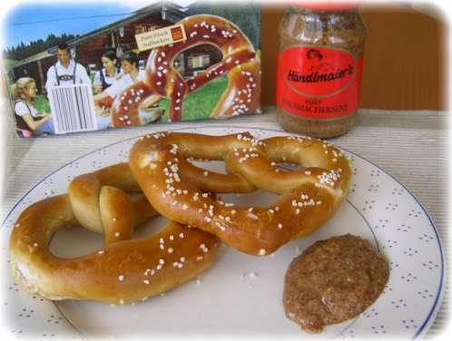 Serviervorschlag: Weißwurst-Frühstück a la PLUS
