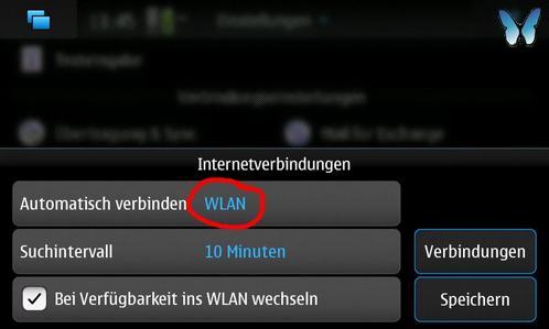 Nokia N900 Internetverbindungen