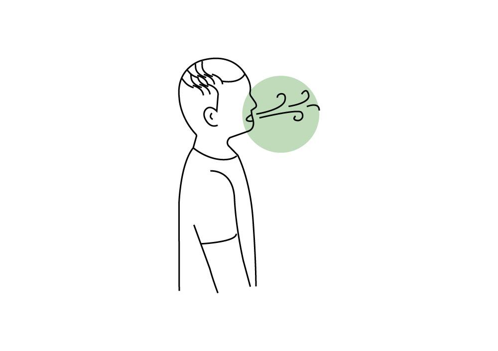 respiration tonique