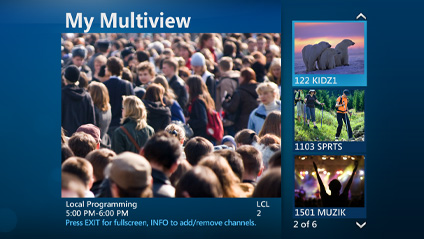 AT&T UVerse Multiview