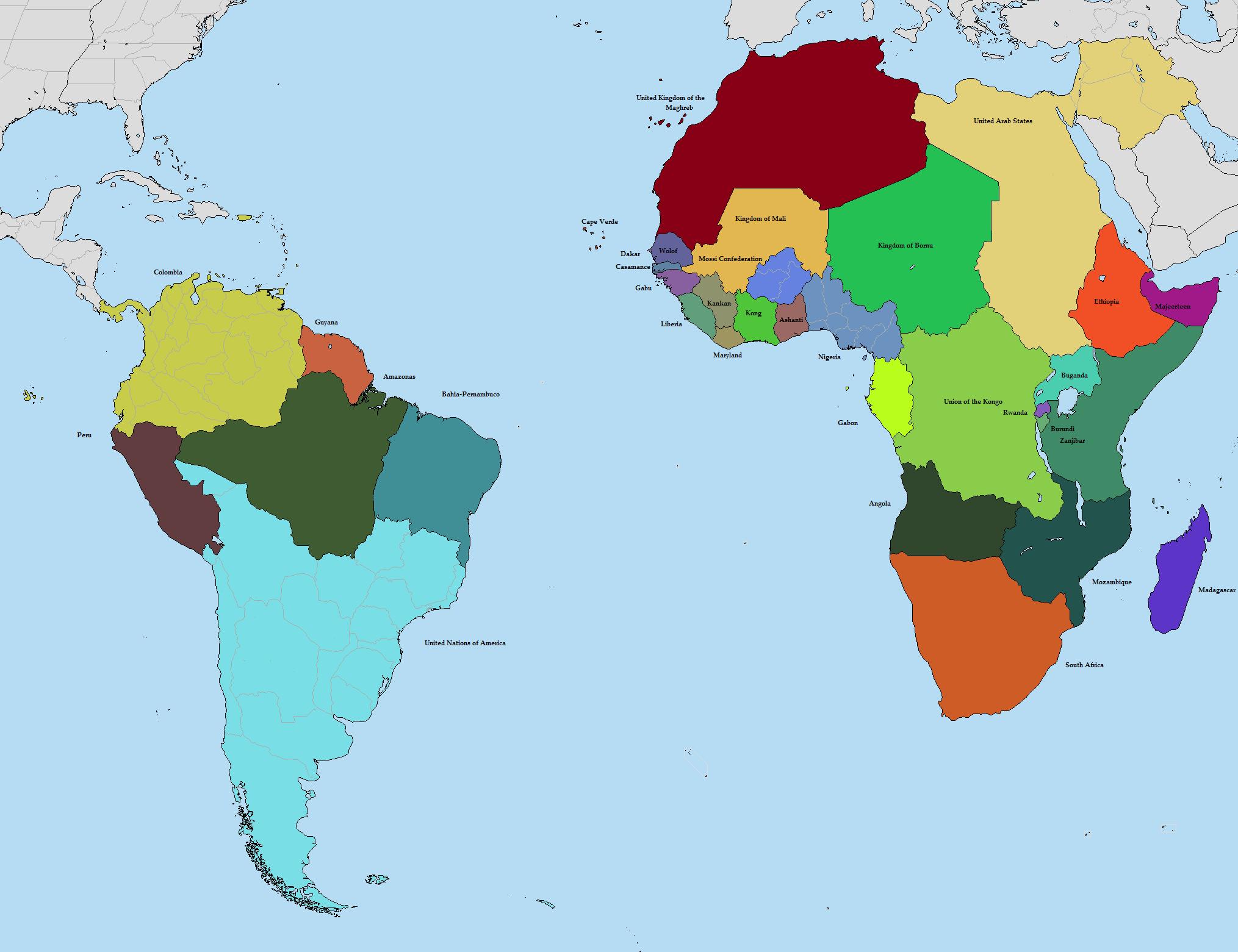 Alternate History Map Thread