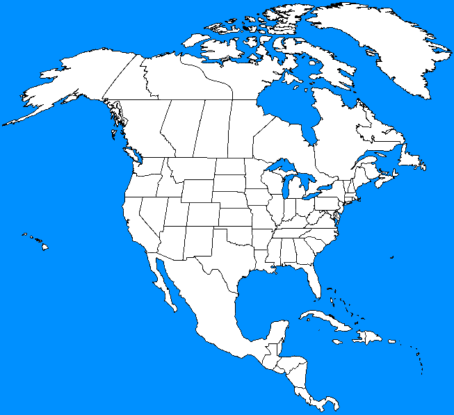 Alternate History Maps North America