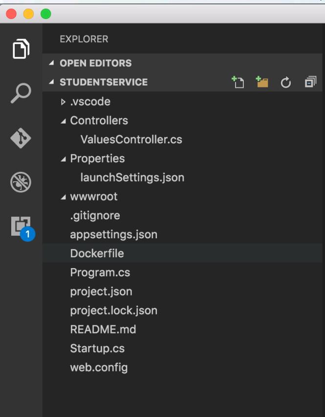 aspnet core folders