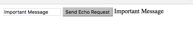 Echo Success