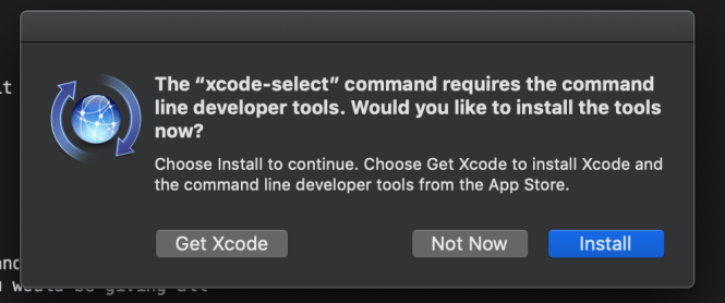 xcode-select intall