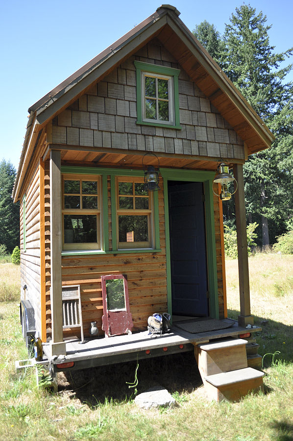 alternativa kusten: tiny house / hus på hjul via wikimedia