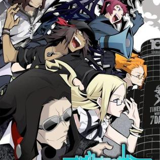 AN_The World Ends with You the Animation poster 1