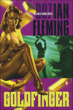Goldfinger, by Ian Fleming Best Killer thrillers crime fiction