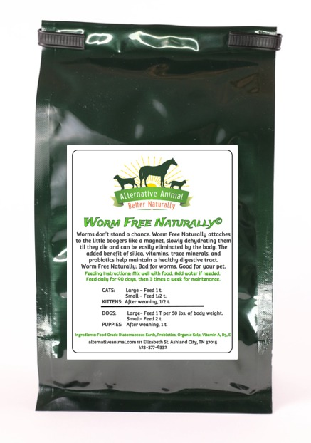 Worm Free Naturally-Natural Dog Wormer