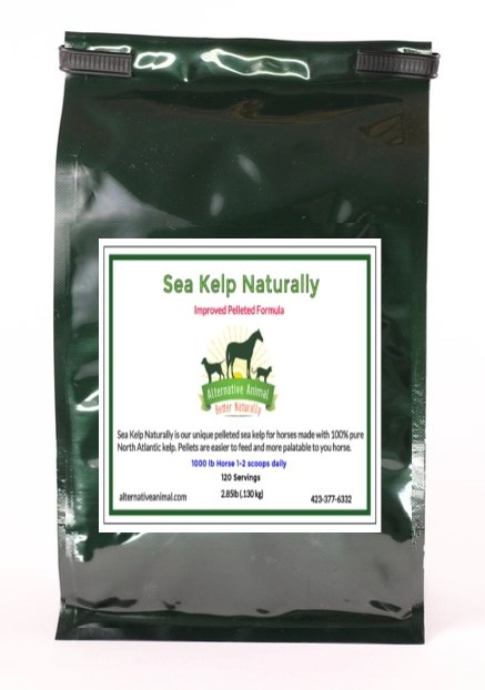 Kelp for Horses-Sea Kelp Naturally (pellets)