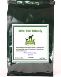 natural hoof supplement for horses
