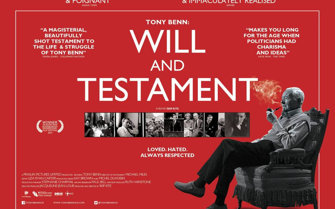 SCREENING: Will & Testament (The Tony Benn Film)