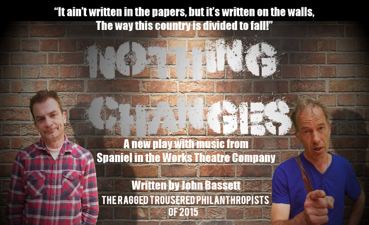 Nothing Changes - The Ragged Trousered Philanthropists of 2015