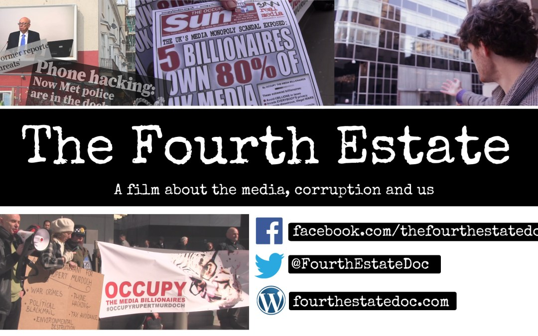 Bristol Premiere of radical documentary, The Fourth Estate