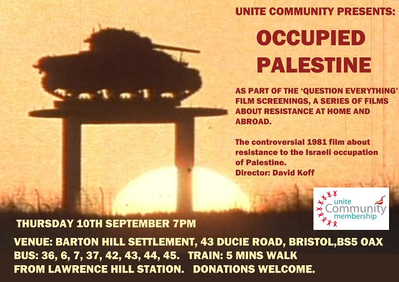 "Film ""Occupied Palestine"""