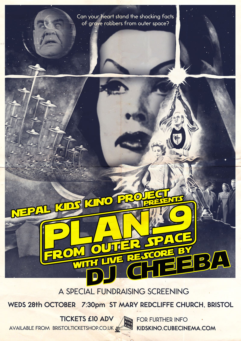 NKKP presents 'Plan 9 from Outer Space' with live re-score by DJ Cheeba