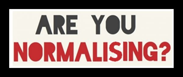 Are You Normalising?