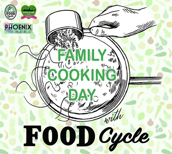 Family Cooking Day with FoodCycle Bristol