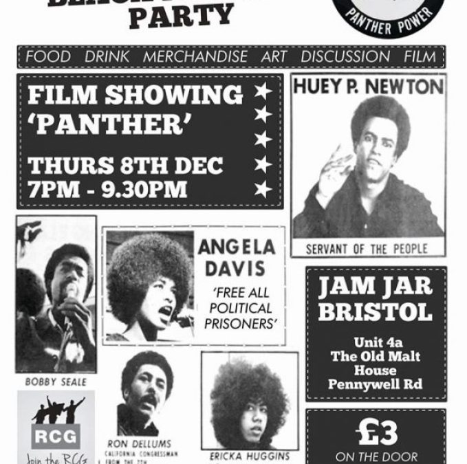 """""""Panther"""" Film Showing: 50th Anniversary of the Black Panther Party"""