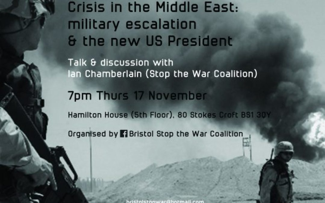 Crisis In The Middle East – Military Escalation And The New US President