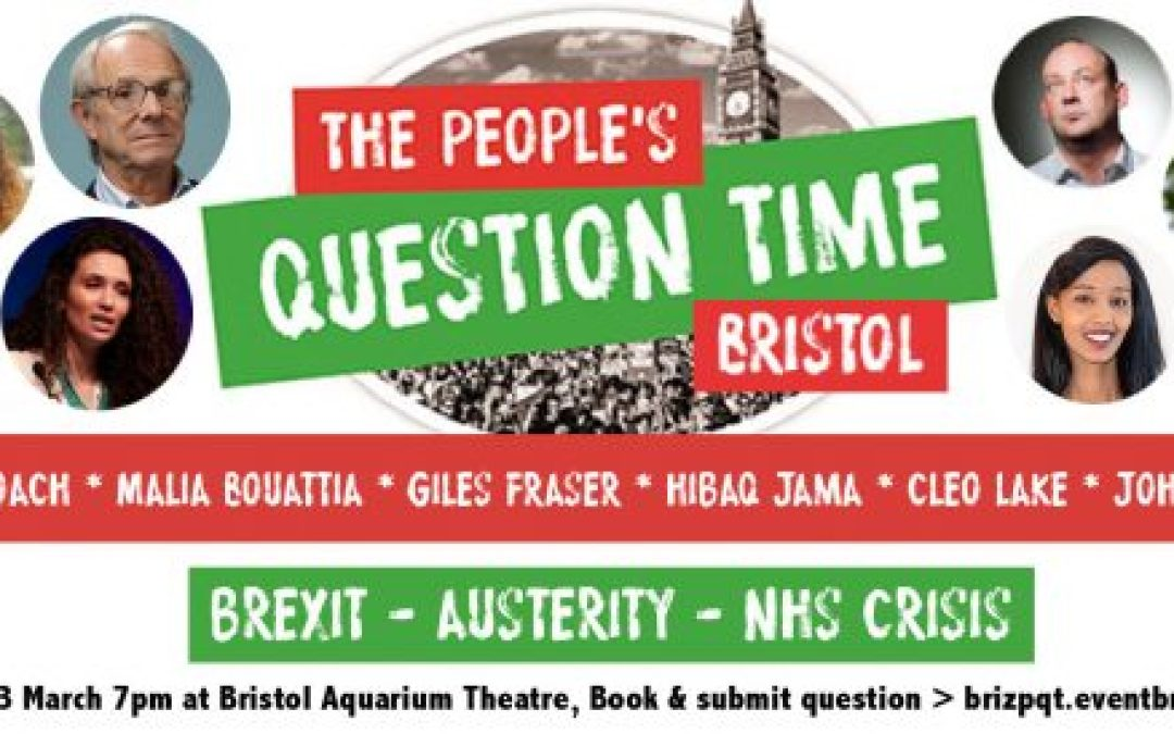 Bristol People's Question Time feat. Ken Loach and Malia Bouattia