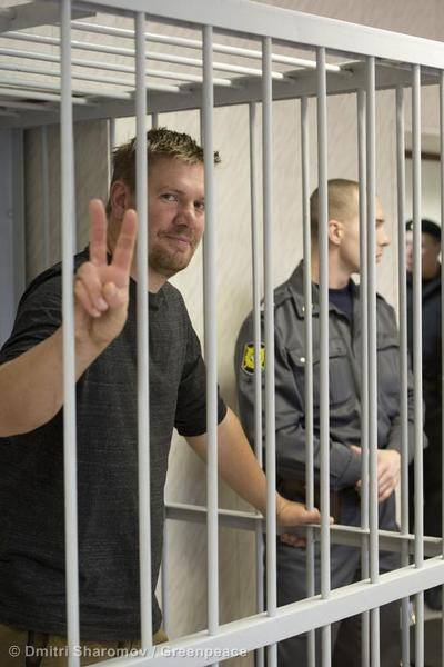 The Story of the Arctic 30 – An evening with protestor Anthony Perrett
