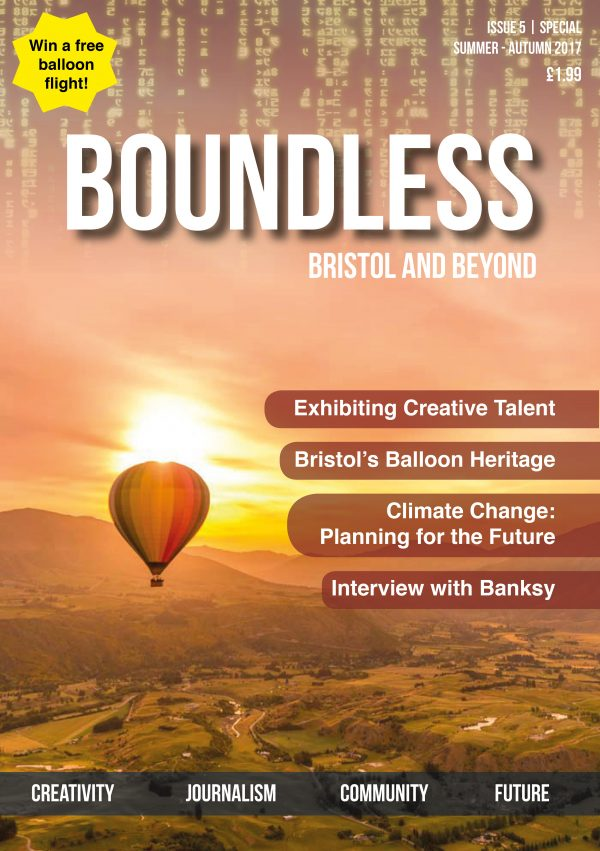 Publication of Boundless Magazine with Events