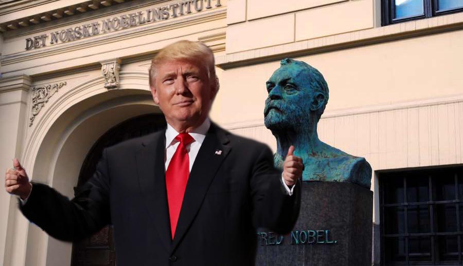 Trump Nominated for the Nobel Prize in Bigotry