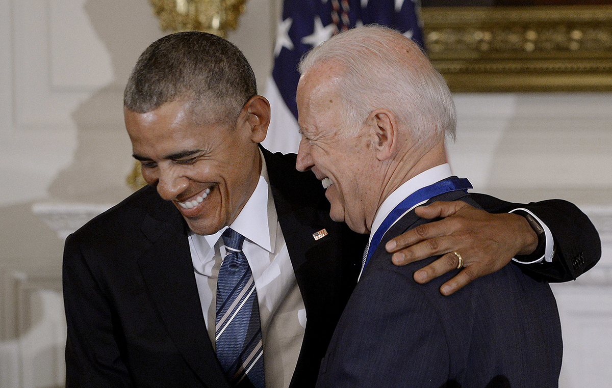 Obama Reminds Biden White House Trash Day is Tuesday
