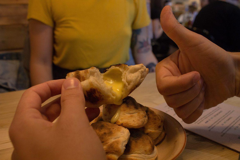 Vegan food in Brighton at Purezza pizzeria