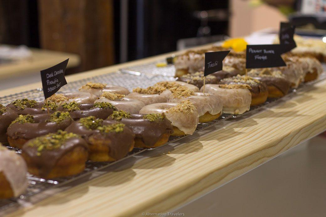 Vegan Donuts in Madrid: Delish Vegan Donuts | AlternativeTravelers.com