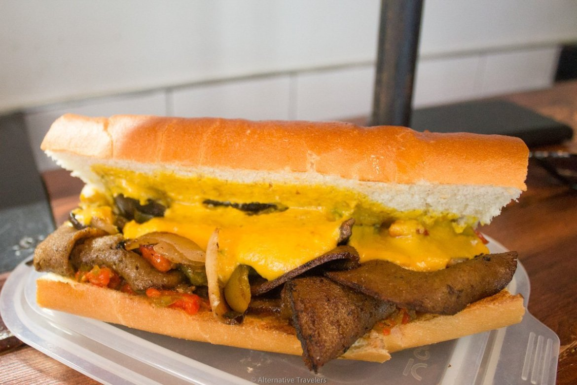 Brooklyn vegan restaurants: Pickle Shack in Sunset Park