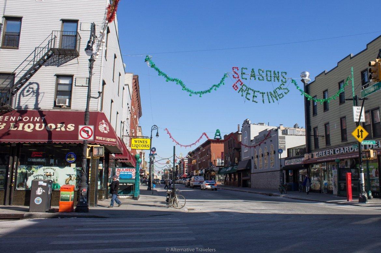 Greenpoint, Brooklyn in Winter