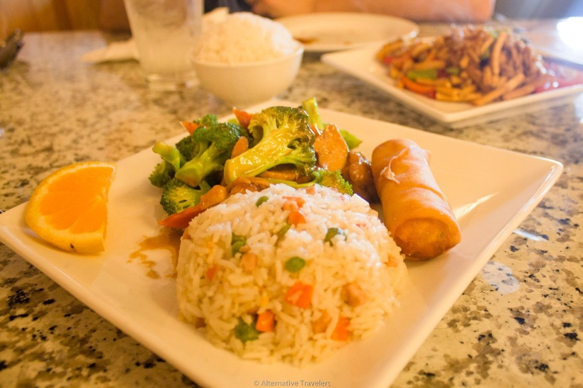 vegan Chinese food in Portland at Yuan Su Vegetarian