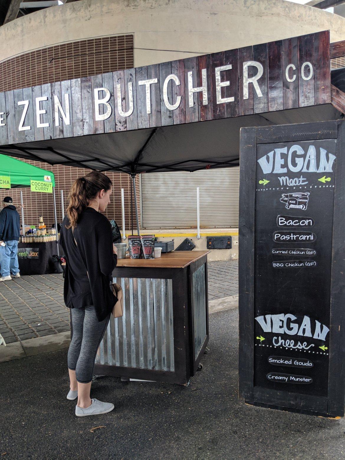 The Zen Butcher sign