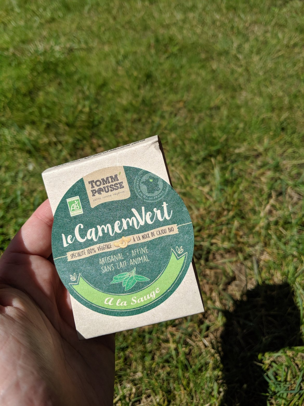 vegan camembert in France