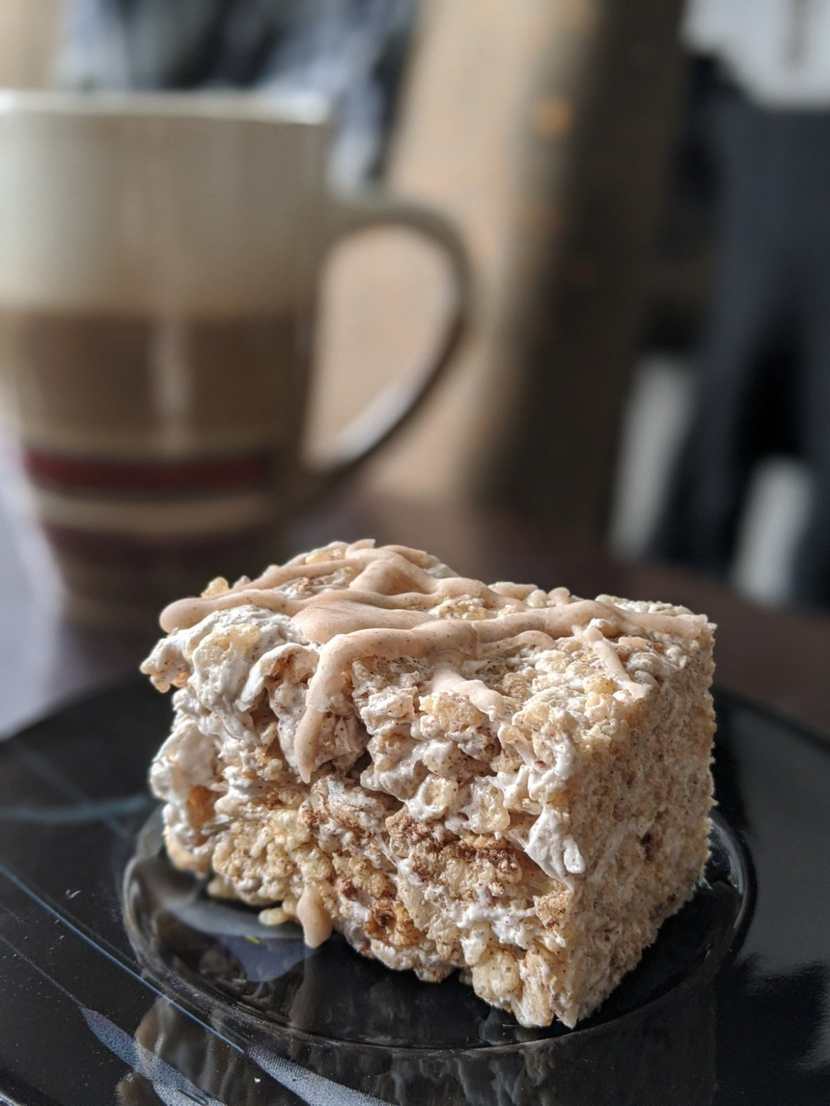 vegan rice krispy treat at The Big O Doughnuts, a vegan bakery in SLC
