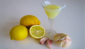 Citron a cesnek_drink