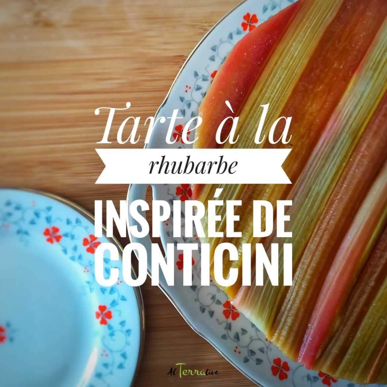 tarte rhubarbe inspiration conticini